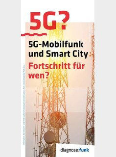 5G-Mobilfunk + Smart City, Flyer (8S. DIN lang)
